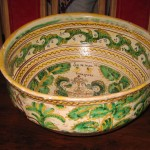 photo of a creamic bowl